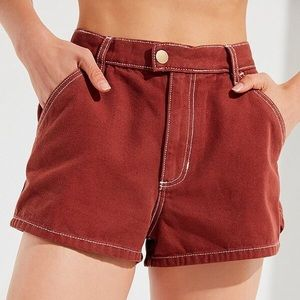 Urban Outfitters BDG Contrast Stitch Short